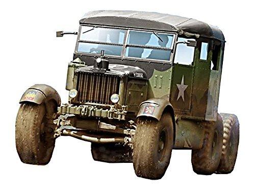Thunder Model 1/35 British Scammell Pioneer tank transporter TRMU30 Plastic TH35204 scan Camel tank transport tractor - Tank Transporter