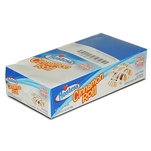 Rolls Sweet Cinnamon (Product Of Hostess, Cinnamon Roll, Count 6 (4 oz) - Cakes & Muffins / Grab Varieties & Flavors)