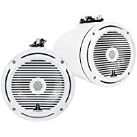 JL Audio MX770-ETXv3-CG-WH 7.7 wakeboard tower speakers with Classic Grilles (White)