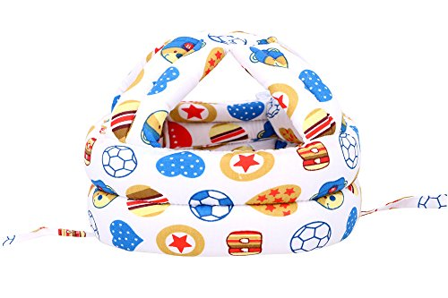 Simplicity Baby Safety Helmet Toddler Head Protection Cap Adjustable Planet 1