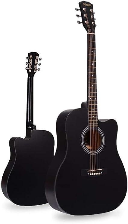 Boll-ATur Guitarra acústica de 41 pulgadas Principiante Mujer ...