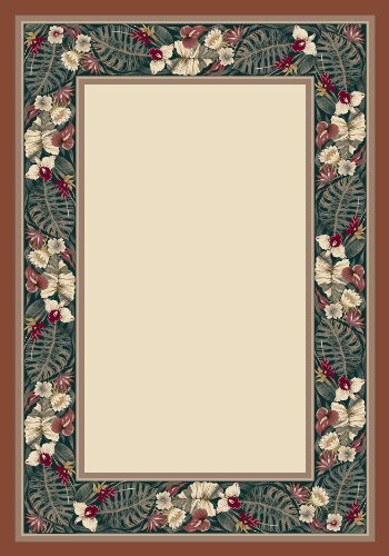 Milliken 4000040289 Innovations Collection Kapalua Oval Area Rug, 3'10