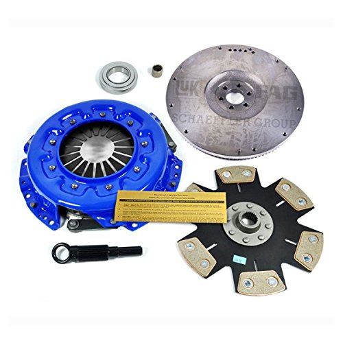 EF STAGE 4 CLUTCH KIT & FLYWHEEL for 1987-1996 NISSAN PATHFINDER XE SE 3.0L 3.3L (Pathfinder Nissan Flywheel)