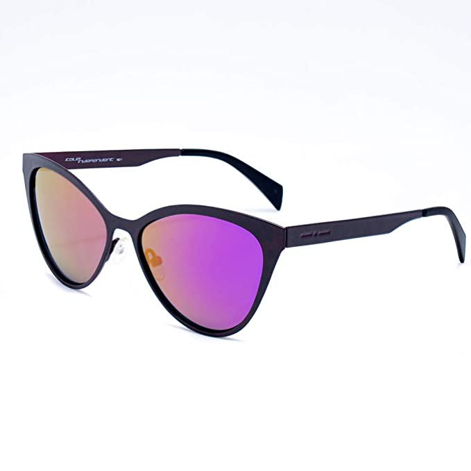 italia independent 0022AT-018-000 Gafas de sol, Negro, 55 ...