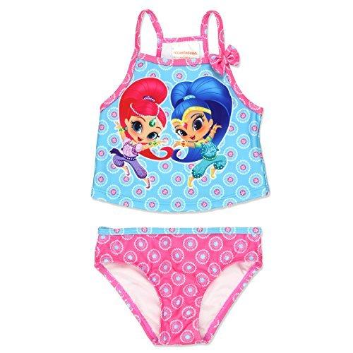 Shimmer and Shine Girls Swimwear Swimsuit (4T, -