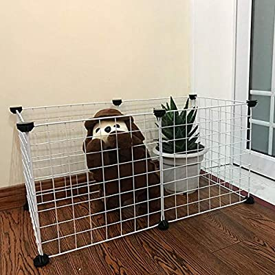 Foldable Pet Playpen Iron Fence Puppy