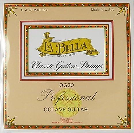 La Bella OG 20 - Guitarra octava: Amazon.es: Instrumentos musicales