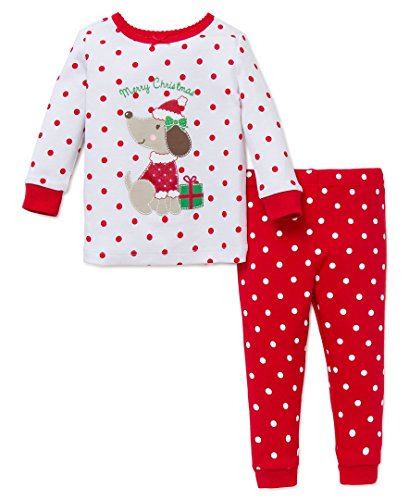 Little Me Baby Holiday 2 Piece Pajama Set,