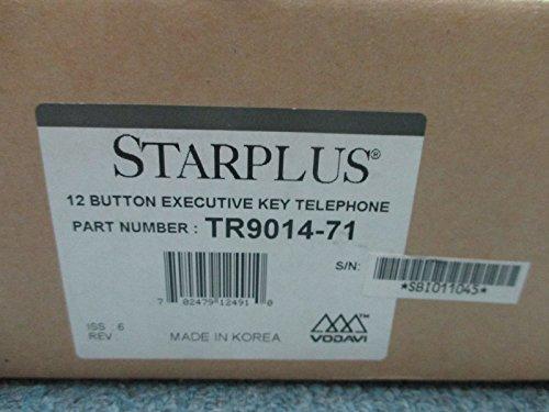 Vodavi Starplus Infinite Triad 9014-71 12 Button Executive Key Display Telephone -