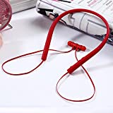 2018 Sports Bluetooth Wireless Headphone Bluetooth with mic for iPhone 8 Earphone,Red