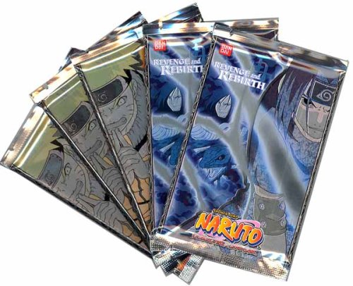 Naruto Cards - REVENGE AND REBIRTH - Booster Packs (5 Pack Lot)