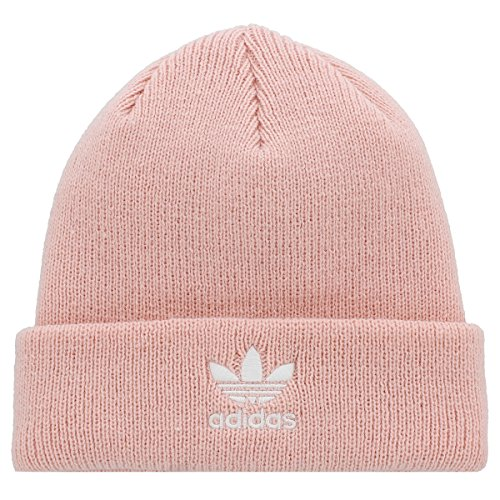 Adidas Women's Originals Trefoil II Knit Beanie, Ice Pink, One Size from adidas Originals
