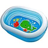 Intex - Piscina hinchable Intex oval acuario 163x107x46 cm - 238 l - 57482NP