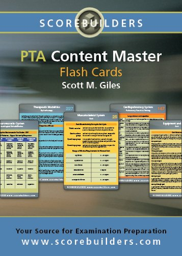 PTA Content Master Flashcards