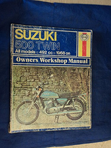 Used, Suzuki 500 Twin Owners Workshop Manual: All Models, for sale  Delivered anywhere in USA
