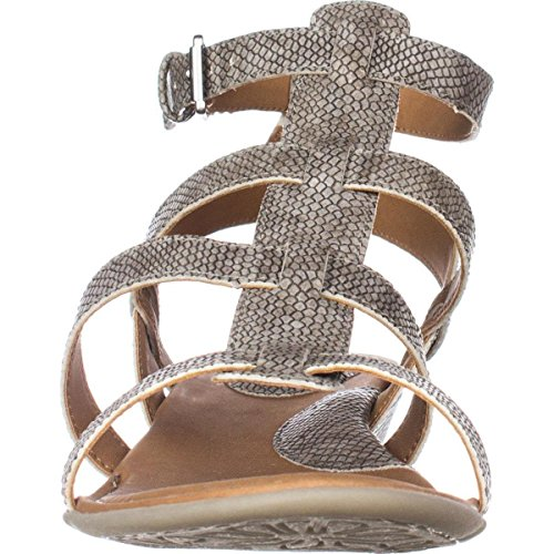 Gladiator by Sandals Concept Wedge B Low HEIDI Born exotic O C PU Print Womens Cream Uwxx1SzqB