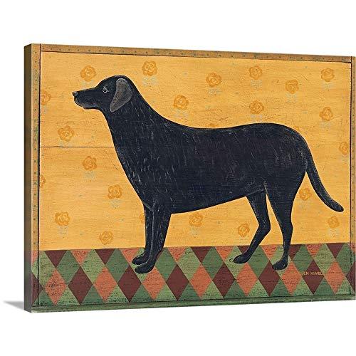Labrador Canvas Wall Art Print, 16