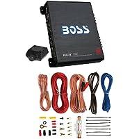New BOSS R3002 600W 2-Channel Car Amplifier + Boss 8 Gauge Amplifier Install Kit