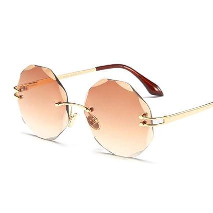 LLLM Gafas de sol Gafas de Sol sin Montura Samll Gafas ...
