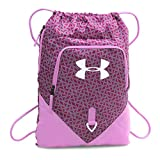 Under Armour Undeniable Sackpack, Verve Violet/Black Cherry, One Size