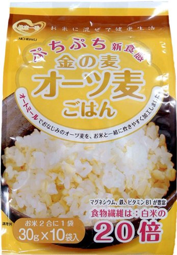 Barley oats rice 30gX10PX12 bags of Japan pearling gold by Japan pearling