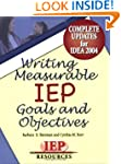 Writing Measurable Iep Goals and Obje...