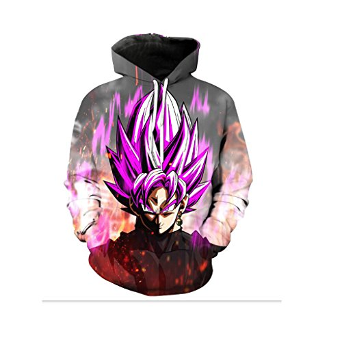 Harry Shops Halloween Holiday Dragon Ball-TAOHUO Costume Hoodie-Male-Large (Buy Goku Halloween Costume)