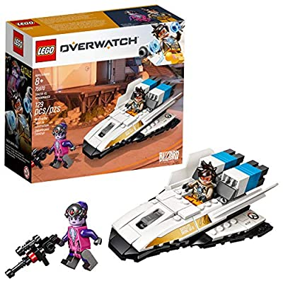 LEGO Overwatch Tracer & Widowmaker 75970 Building Kit (129 Pieces): Toys & Games