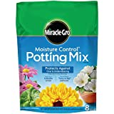 Miracle-Gro Moisture Control Potting Mix, 8-Quart (currently ships to select Northeastern & Midwestern states)