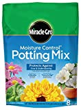 #6: Miracle-Gro Moisture Control Potting Mix, 8-Quart (currently ships to select Northeastern & Midwestern states)