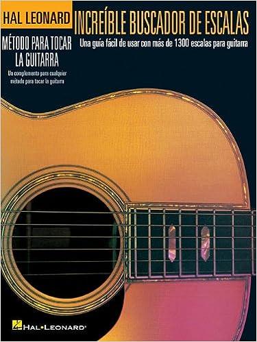 Incre ble Buscador De Escalas (Hal Leonard): Amazon.es: Hal ...
