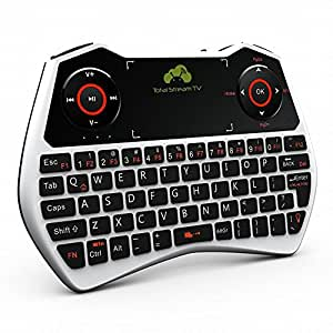 Rii i28c Mini One Touch Pad Keyboard Branded Total Stream TV