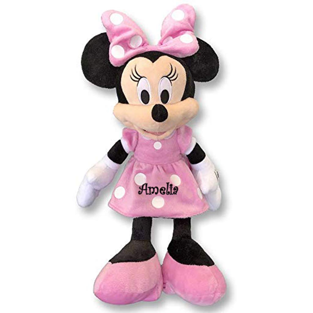 Personalized Licensed Disney's Plush Toy (Minnie Mouse 15'') by DIBSIES Personalization Station