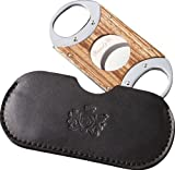Brizard & Co. Zebrawood Double Guillotine Cigar Cutters
