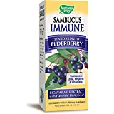 Nature's Way Sambucus, Bio-Certified Elderberry, Immune Syrup, 4 Ounce
