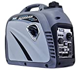 2000 Watt Portable Generator - Pulsar Products PG2000iSN Portable Gas-Powered Inverter Generator, 2000w, Grey