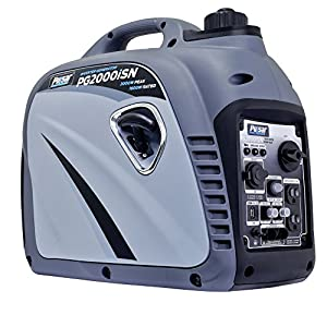 Pulsar PG2300iS 2,300W Portable Gas-Powered Inverter Generator with USB Outlet & Parallel Capability, CARB Compliant