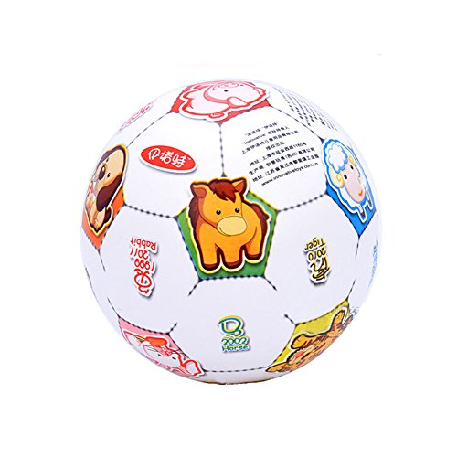 [WHITE Zodiac] INNOVATIVE Kid PVC Ball Children Beach Summer Party Ball, 8.5'' by Panda Superstore
