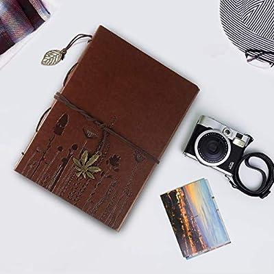 ThxMadam Scrapbook Cuero Álbum de Fotos Libro de Visitas de Boda ...