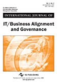 International Journal of It/Business Alignment and Governance, Wim Van Grembergen, 1609609751