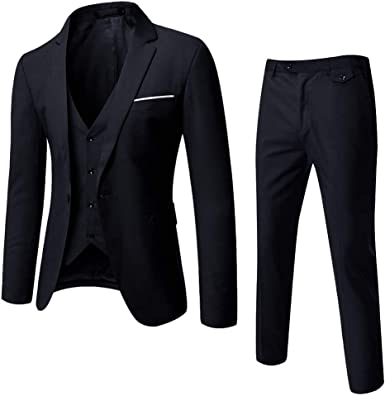Men/'s One Button Plaid Jackets Coats Blazer Cocktail Wedding Formal Dress Suits