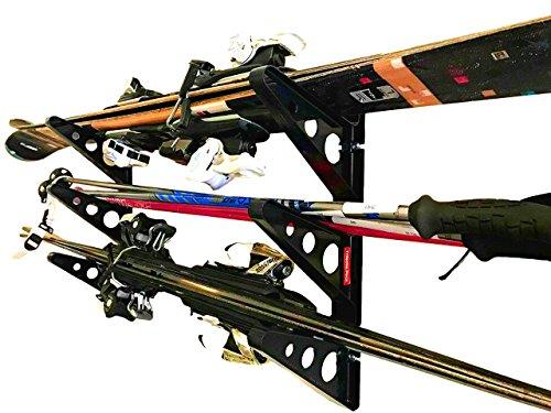 Ski Storage Rack | Horizontal Wall Rack | StoreYourBoard (Ski And Racks Snowboard)