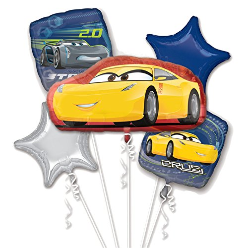 Anagram Disney Cars 3 Cruz Jackson Bouquet of -