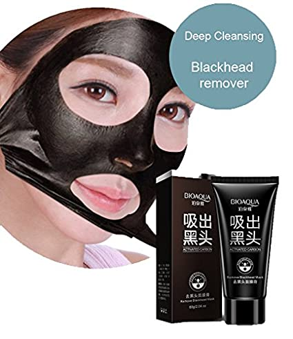 BioAqua Negro máscara removedor de cabeza - Bambú Peel Off Mascarilla - Crema de eliminación de