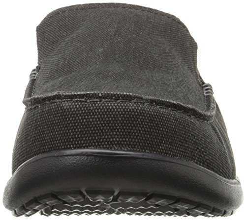 Crocs Mens Santa Cruz 2 Luxe Loafer Zwart / Zwart