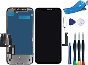 HBJH Premium Screen Replacement Compatible with iPhone 11, Screen Replacement iPhone 11 (6.1 inch)(Model A2111, A2223, A2221) Touch Screen Display digitizer Repair kit Assembly