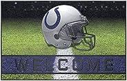 FANMATS 19946 Team Color Crumb Rubber Indianapolis Colts Door Mat, 1 Pack