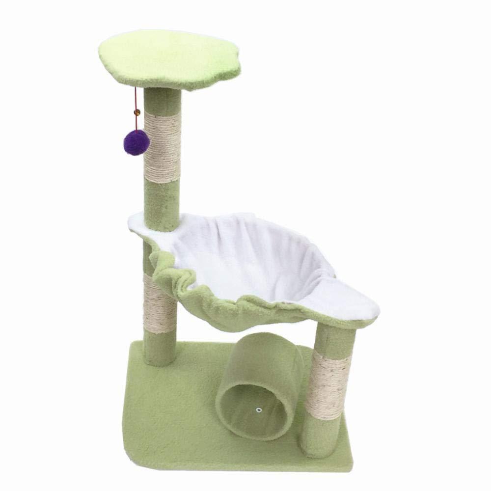 D Dixinla Cat climbing frame Medium-sized pet cat Toy cat Tree Platform grab plate grab Board furniture 45  37  71cm