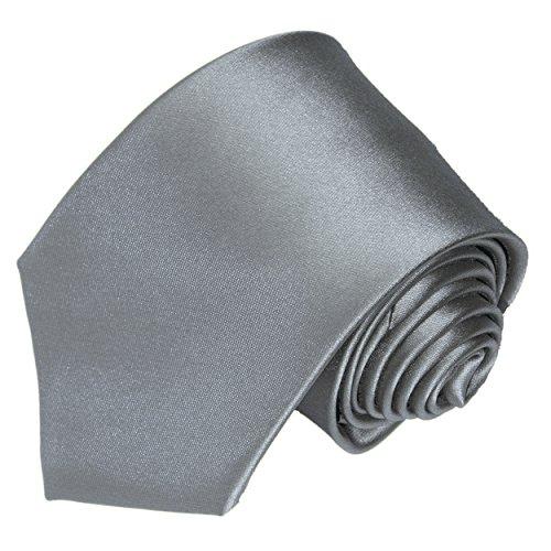 Tie the Knot Attire Adult Neck Tie,Light Gray,Medium ()