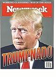 NEWSWEEK WEEKLY MAGAZINE, 2016 WORKING-CLASS HERO/WAR OF THE SEXES TRUMPNADO